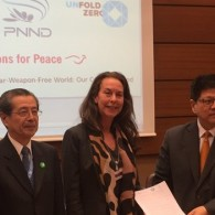 Religious leaders and legislators present joint call to new UN disarmament body
