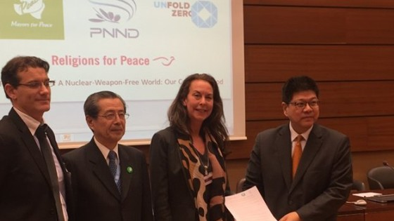 Presentation of the joint statement 'A Nuclear-Weapon-Free World: Our Common Good' to the UN Open Ended Working Group