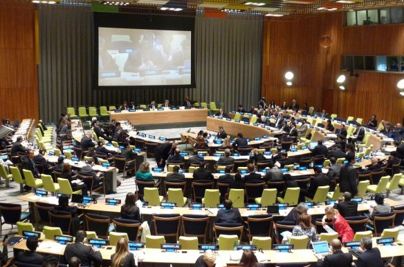 The European Union addresses the UN High Level Meeting on Nuclear Disarmament in 2013