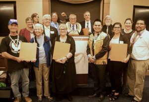 Nuclear Free Future Award laureates and presenters in Washington DC