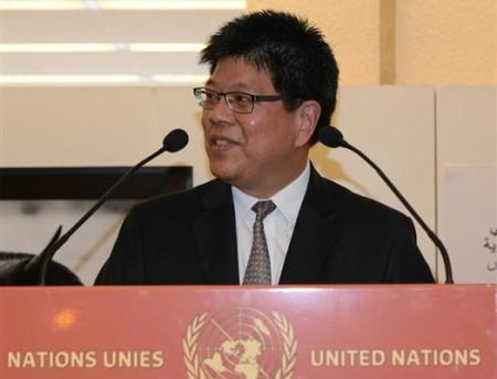 Ambassador Thani Thongphakdi, Chair-designate for the Open Ended Working Group